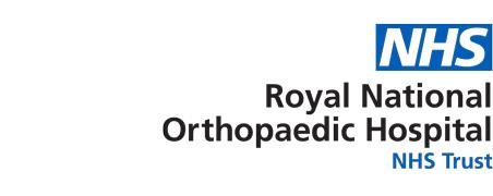Royal National Orthopaedic Hospital