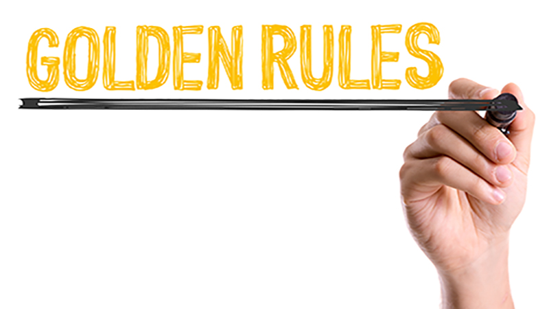 Golden rules of communication