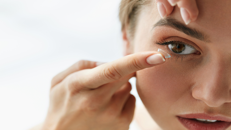 Designing a contact lens surface to reduce stress on the cornea