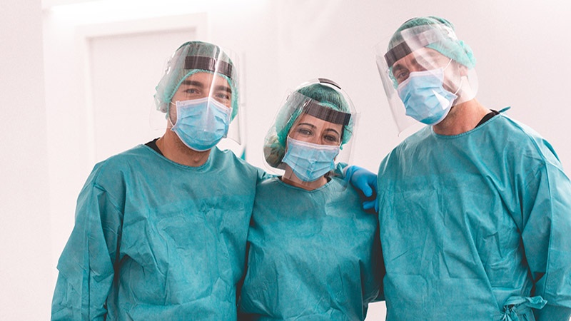 Teamwork and infection  control in the face of adversity