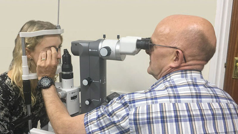 Laser trabecular modulation in optometry