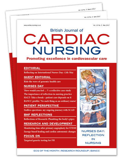 Picture of British Journal of Cardiac Nursing Print & CPD
