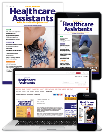 Picture of British Journal of Healthcare Assistants Full Club