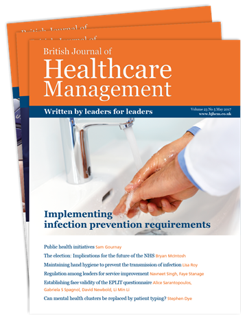 Picture of British Journal of Healthcare Management Print