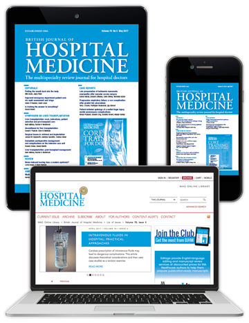 Picture of British Journal of Hospital Medicine Digital Club