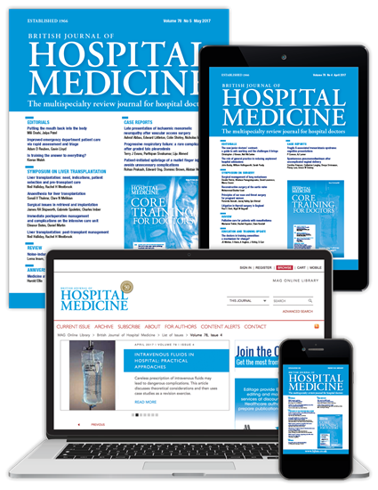 Picture of British Journal of Hospital Medicine Full Club