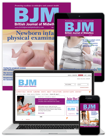 Picture of British Journal of Midwifery Full Club