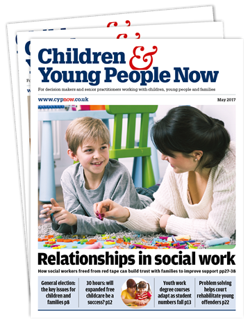 Picture of Children & Young People Now Print