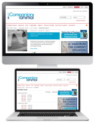 Picture of Companion Animal Website & CPD