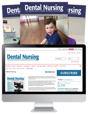 Picture of Dental Nursing Print, Website & CPD