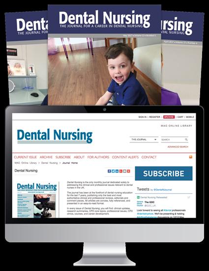 Picture of Dental Nursing Print, Website & CPD