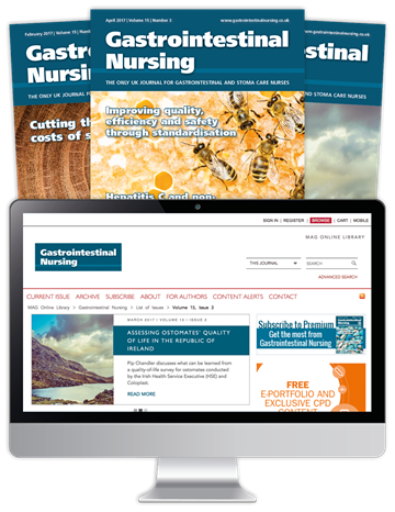 Picture of Gastrointestinal Nursing Print, Website & CPD