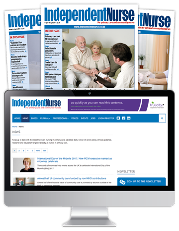 Picture of Independent Nurse Print, Website & CPD