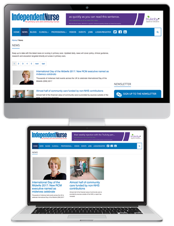 Picture of Independent Nurse Website & CPD