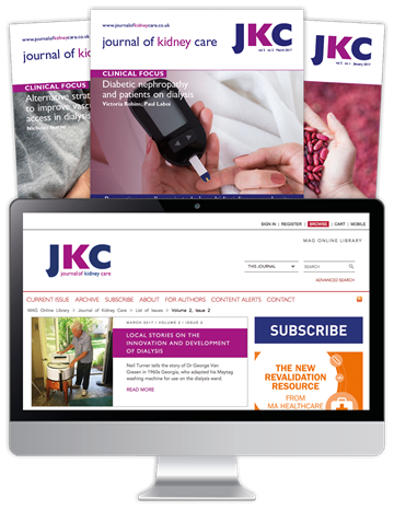 Picture of Journal of Kidney Care Print & Website
