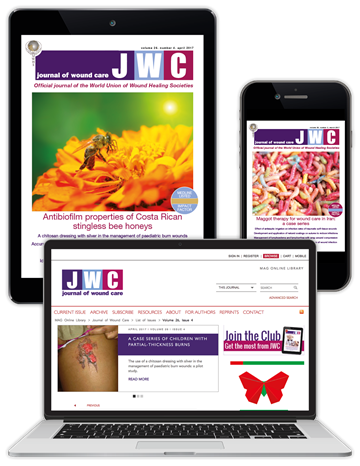 Picture of Journal of Wound Care Digital Club