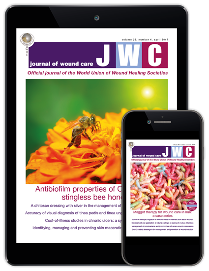 Picture of Journal of Wound Care Digital