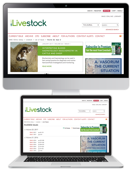 Picture of Livestock Website