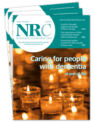 Picture of Nursing & Residential Care Print & CPD
