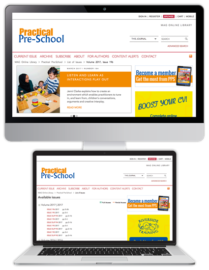 Picture of Practical Pre-School Website