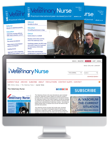 Picture of The Veterinary Nurse Print, Website & CPD