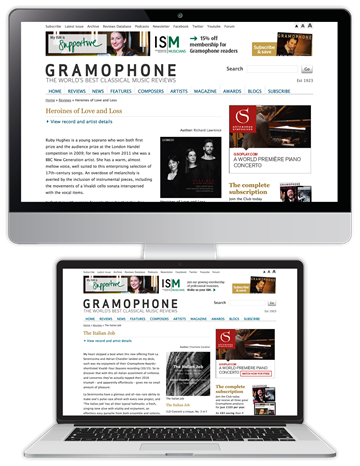Picture of Gramophone Reviews
