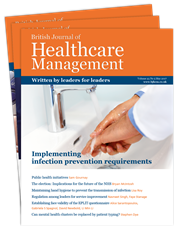 Picture for category British Journal of Healthcare Management