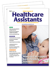 Picture for category British Journal of Healthcare Assistants
