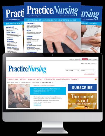Picture of Practice Nursing Print, Website & CPD