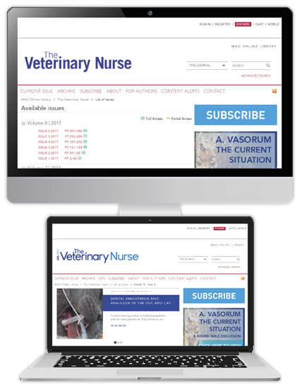 Picture of The Veterinary Nurse Website & CPD