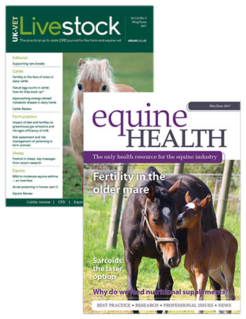Livestock and Equine Health print