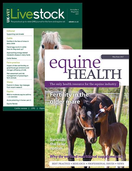 Livestock and Equine Health print
