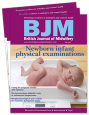 Picture for category British Journal of Midwifery - Winter Sale