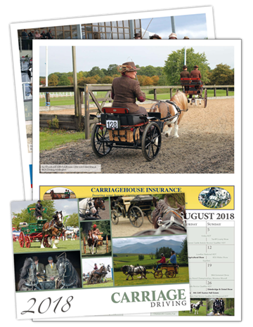 Picture of Carriage Driving Calendar 2018
