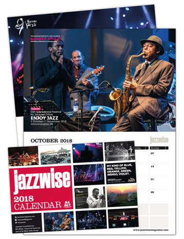 Picture of Jazzwise Calendar 2018