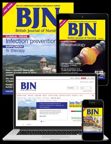 Picture of British Journal of Nursing Full Club