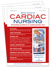 Picture for category British Journal of Cardiac Nursing - Trial Subscriptions