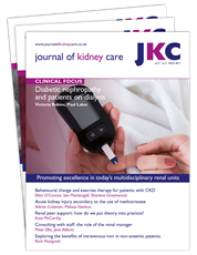 Picture for category Journal of Kidney Care - Trial Subscription
