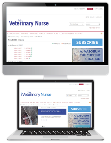 Picture of The Veterinary Nurse Website £3 for 3 months