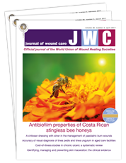 Picture for category Journal of Wound Care - Trial Subscription