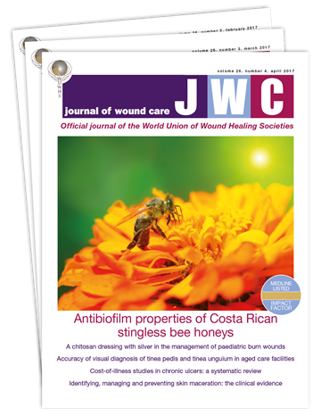 Picture of Journal of Wound Care Print £3 for 3 issues
