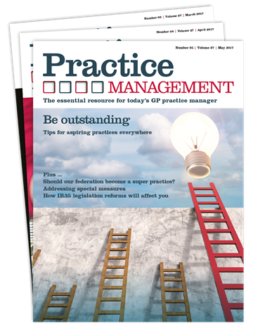 Picture of Practice Management Print £1 for 1 issue