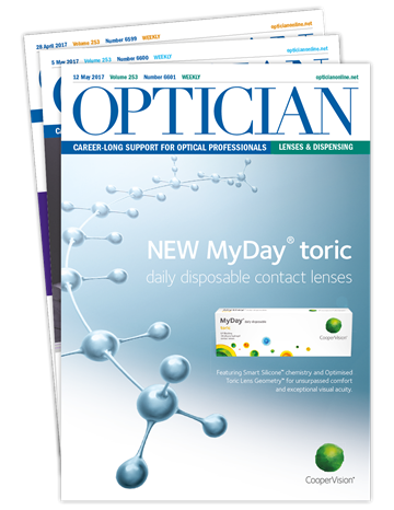 Picture of Optician Print & CET £12 for 12 issues