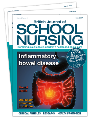 Picture of British Journal of School Nursing Print £1 for 1 issue