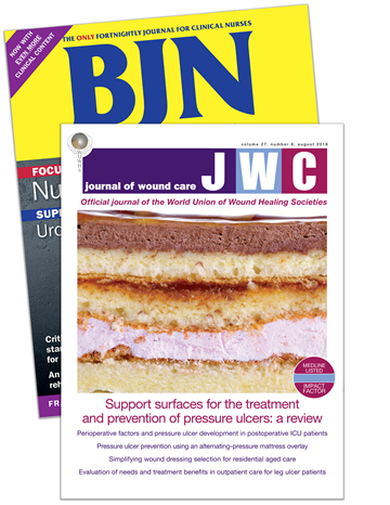 Picture of British Journal of Nursing Print & CPD & free Journal of Wound Care