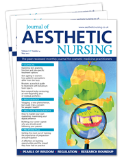 Picture for category Journal of Aesthetic Nursing - Trial Subscriptions