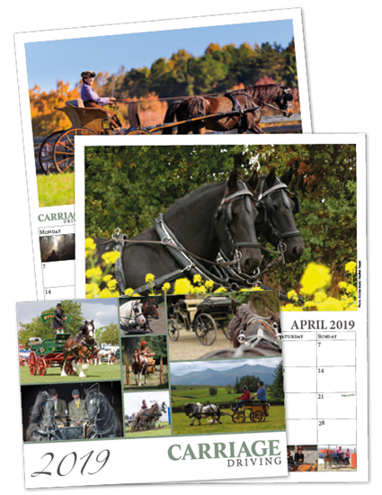 Carriage Driving Magazine Calendar