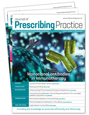 Picture of Journal of Prescribing Practice Print & CPD