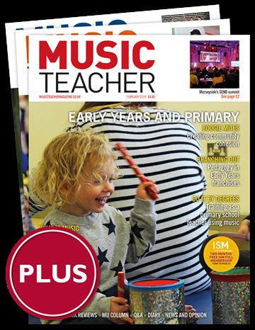 Picture of Music Teacher Print Plus