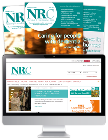 Picture of Nursing & Residential Care Print, Website & CPD - 20th Anniversary